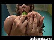 Huge prison boobs titfuck a fat cock boy