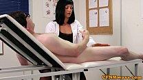 cfnm femdom nurse eden james giving head