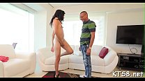 Smooth tranny's gazoo gets rammed