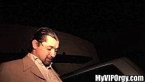drunken slut gets railed in the limo porn videos