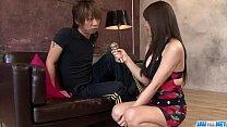 Karen Natsuhara uses big dick to smash her tight vagina porn videos