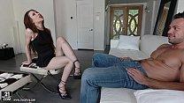 Foot fetish sex with Anya Olsen porn videos