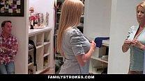 familystrokes   milf hardcore fucked by stepson