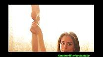 sexy flexi naked yoga porn videos