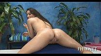 Муж наблюдает как жене делают массаж порно