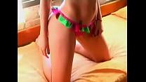 Virginia Gallardo modelo argentina topless back...