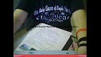 webcam en tarea su haciendo Chica