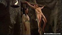 lesbian slave punishment video   slave tears of rome