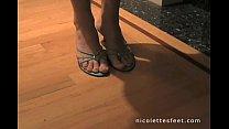 Nicolette Footjob