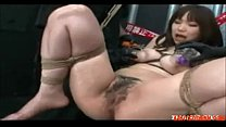 Hairy Asian Teen Roped and Toyed Rough, Porn: x...