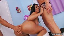 Tamara Camargo enjoys sex with two latinos