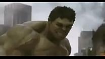 Hulk destruye a viuda negra.MOV porn videos