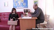 Tricky Old Teacher - Karolin drops her panties porn videos