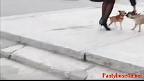 Pantyhose Upskirt Free Funny Porn Video 95-Pantyhose4u.net thumbnail