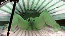 first hidden cam in public solarium worldwide