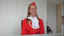 Dumb Russian Teen Air Hostess creampied at fakeflightagent porn videos