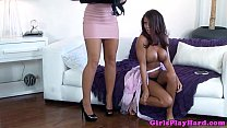 Lesbian Madison Ivy pleasures Capri Cavanni