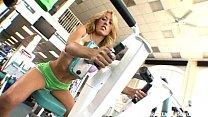 Nice titted Capri Cavalli seduces her trainer a...