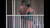 sexo en el balcon del hotel, camerino spy Video Screenshot Preview