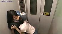 elevator an in up meet lesbians fuera