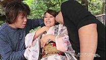 uncensored - threesome with sexy asian Aoi Mizuno