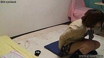 Japanese Schoolgirl Hikaru Open-wide Leg Panties thumbnail