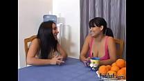 Roxy teamed with Sophia porn videos