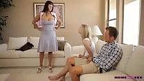 moms teach sex   mom catches horny teen couple