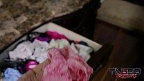 Punishment For Sniffing Stepmoms Panties: Make Mom Cum porn videos