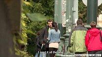 Czech Slutty Teen Fucks Stranger On Street