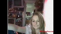 09-stripcamfun.com video porn webcam blonde free masturbate blonde Webcam