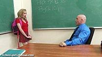 teen schoolgirl gets knocked up by teacher