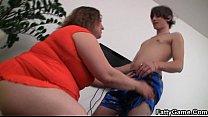 Порно видео очень жирные тетки с огромными сиськами