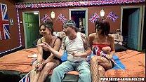 orgy british amateur girls gangbang swingers party