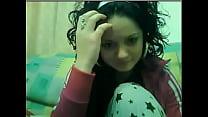 Claudia din GALATI face striptis la web