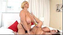 Busty BBW Pornstars Samantha 38G and Maria Moor...