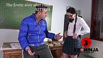 The Erotic afair after class Kittina Ivory  en 089 sample porn videos