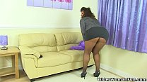 british milf gilly doesn t wear knickers just tights today