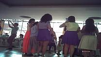 bailando Piernuda