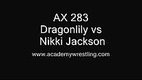 Nikki Jackson vs Dragonlily - Erotic Wrestling