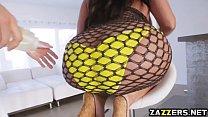 Kiara got bouncing in anal pounding