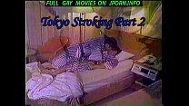 straight Japanese guy Hiroshi jerking off and c...