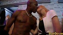 Cfnm sluts tug strippers