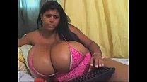 Kristina Milan Webcam boobs 91
