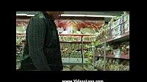 Amateur couple sex in super market porn videos