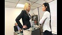threesome office secretary to turns Catfight