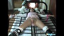 photoshoot sexy for tiedup bibi slave Asian