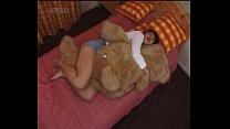 japanese girl humping a teddybear