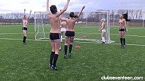 Lustful sport lesbians masturbating porn videos