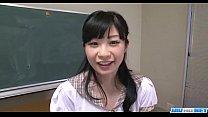 Mizutama Remon kneels and blows cock until exhaustion porn videos